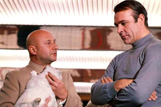 Blofeld and Bond