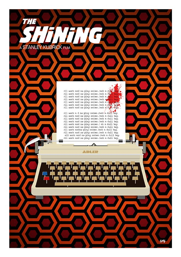 The Shining Typewriter - Colours Can Fly Art Prints.jpg